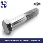 hot dipped galvanized Hex bolts with ISO 9001: 2008